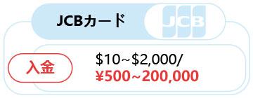 JCBカードでの入金方法!!-1